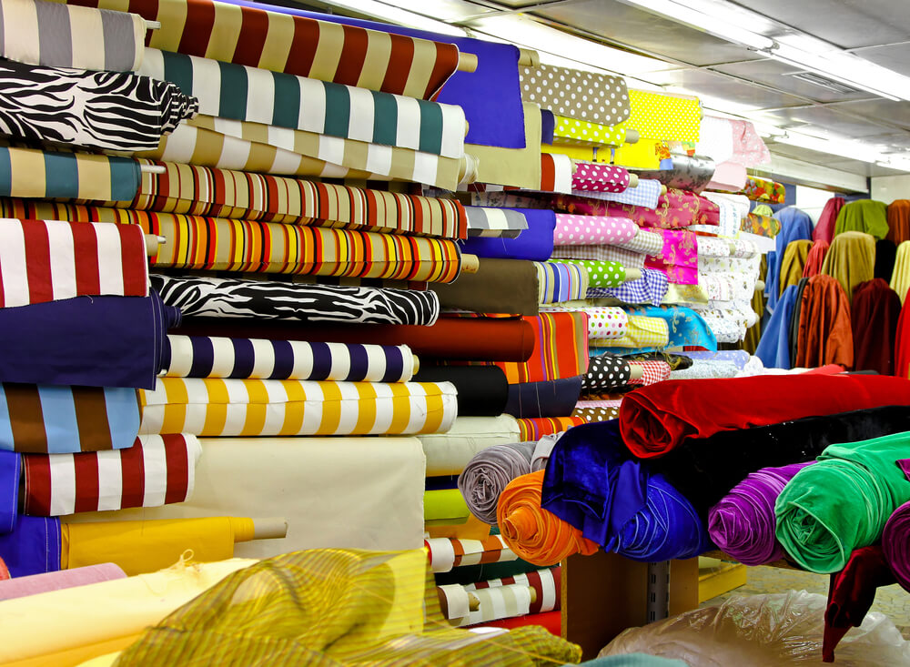 estoque têxtil