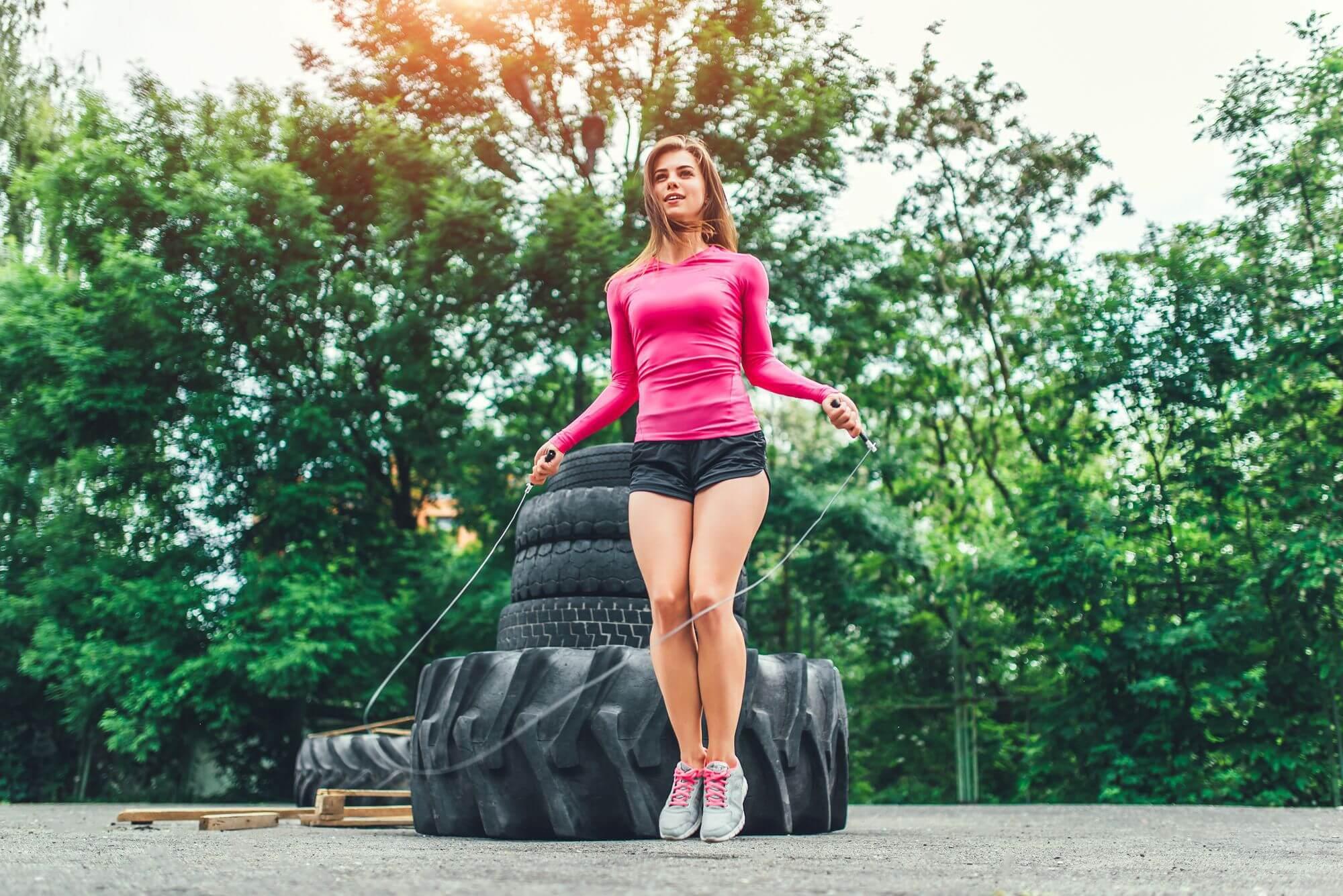Materiais para moda fitness
